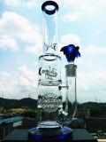 Großhandelsarm-Baum-Unterseiten-Becher-Filtrierapparat-Form-rauchendes Wasser-Glasrohr mit Borosilicat-Material
