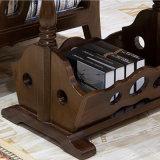 Ultimo tavolino da salotto di legno solido di disegno semplice per la mobilia domestica As811 di uso