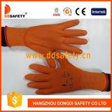 Ddsafety 2017 gants fonctionnants enduits par unité centrale oranges