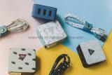 3c Certificado 4.5A 3 USB Us Plug Portable Cargador de viaje para teléfonos móviles Accesorios para teléfonos móviles