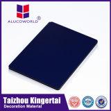 El panel de pared exterior compuesto de aluminio incombustible barato de Alucoworld PVDF
