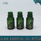 10ml Óleo de garrafa de vidro fosco
