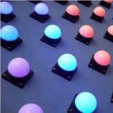 RGB LED Point Light Source Full-Color para Decoração de Edifícios High Power LED Pixel