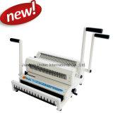 Machine de reliure de livre combinée manuelle Fil 3: 1 et 2: 1 Ww2500