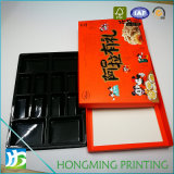 Caja de papel Dulces personalizado con inserto de plástico