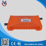 Nuevo aumentador de presión de la señal del teléfono celular del diseño 900/2100MHz 2g 3G 4G