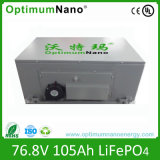 Batería de la batería de litio 76.8V 105ah EV con BMS