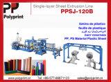 Linha de extrusão de folha PP Cup para PP Cup, Bandeja (PPSJ-100A)