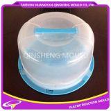 Molde plástico de la caja de la torta de la inyección plástica