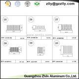 Disipador de aluminio OEM/impar la fundición de aluminio de disipador de calor de la luz de LED