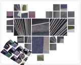 インディゴの綿の粗紡糸の縁のデニム