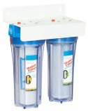Двойной очиститель воды этапа для домашней пользы Kk-D-4-1