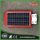réverbère actionné solaire de l'énergie DEL d'approvisionnement de l'usine 30W