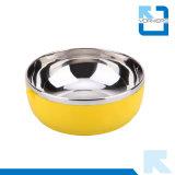 1-4 Schicht-runder MetallEdelstahl-Mittagessen-Kasten/IsolierLunchbox