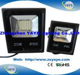 Iluminação quente da inundação do diodo emissor de luz do projector do diodo emissor de luz do projector do diodo emissor de luz do Sell SMD 20W de Yaye 18/SMD 10W/SMD 20With10W