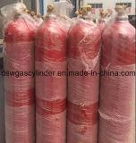 De Gasfles van de hoge druk, Industriële Gasfles met qf-6A Klep