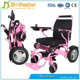 El sillón de ruedas eléctrico plegable más barato de la potencia para los minusválidos