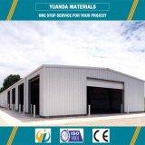 Estructura de acero galvanizada de la INMERSIÓN caliente para el taller