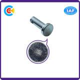 Pin de horquilla principal del Pin del cilindro con los orificios