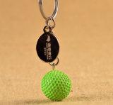 Выдвиженческий металл Keychain шара для игры в гольф
