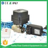 Drahtloses Fernsteuerungsventil-elektrisches Wasser motorisiertes Kugelventil