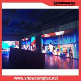 Showcomplex pH1.9 panel de la pantalla LED de interior por Sala de Control