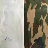 軍ファブリックのために塗られる白の100%多オックスフォードのファブリック
