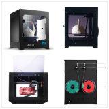 O fabricante LCD-Toca 200X200X200building na impressora 3D Desktop da precisão do tamanho 0.1mm