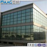 Profil en aluminium de mur rideau de 6060 alliages