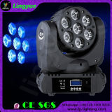 LED 이동하는 맨 위 광속 빛 급상승 세척 7X10W