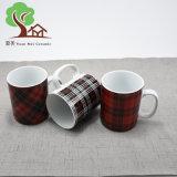 21oz Customiedの昇進のコーヒー・マグのための新しいデザイン石器の陶磁器のマグ