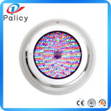 295 mm ABS 12W LED submersible RGB Multi-couleur LED Lumières de piscine sous-marine
