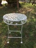 Античный белый самомоднейший складной столик утюга для дома и сада