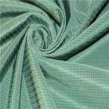 água de 50d 250t & do Sportswear tela 100% tecida do Pongee do poliéster do jacquard da manta para baixo revestimento ao ar livre Vento-Resistente (53214F)