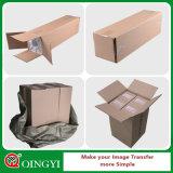 Экономичный Qingyi Flex PU бумага самоклеящаяся виниловая пленка для текстильной