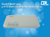 Interfone do módulo da G/M do buildin do Gateway de DBL RoIP (RoIP-302)