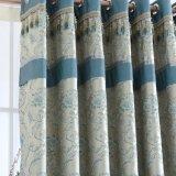 Оптовый занавес окна светомаскировки вышивки синеля для спальни (27W0032)
