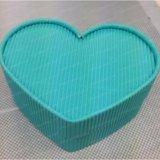 Coração jóias de papelão da embalagem Embalagem de Armazenamento de Caixa de papel