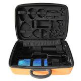Пользовательский жесткий из пеноматериала EVA ящик для инструментов с пластиковой ручкой