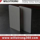 Panneau composite Zinc-Alu pour les façades du matériel du système de revêtement