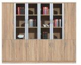 Gabinete de alumínio do original do escritório do frame de madeira de duas portas ou de três portas