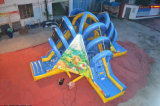 すばらしいジャングルくまの子供(CHSL455-1)のための膨脹可能な4方向スライド