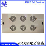 LEDは育てる軽いプラントライト完全なスペクトル1000W 1500W 2000W (スイッチが付いている穂軸およびdimmable)を