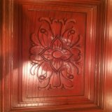Porta de madeira de madeira da entrada principal da porta do Teak contínuo (XS1-002)