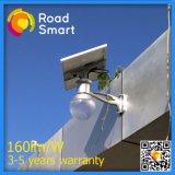 Iluminação solar Integrated do jardim da rua do diodo emissor de luz IP65 com controlador esperto