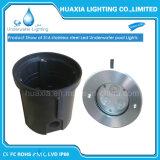aço 316stainless Bulit-em luzes subaquáticas do diodo emissor de luz