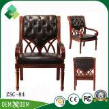 Elegante Art-Buche-König Throne Chair für Wohnzimmer (ZSC-84)