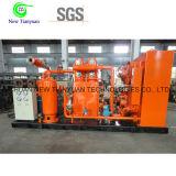 Pequeña Escala Vertical Tipo Motor Conducir CNG Compresor de Gas Natural