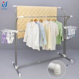 Crémaillère utilisée de Clothesd à vendre la crémaillère verticale de cintre