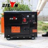 Tipo silenzioso generatore di uso della casa di prezzi di fabbrica del collegare di rame della fabbrica dell'OEM del bisonte (Cina) BS6500dse 5kw 5kv del diesel